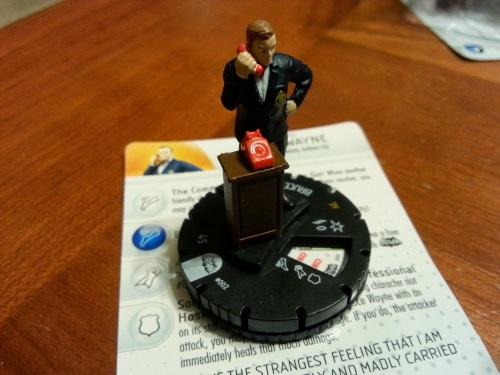 Bruce Wayne Heroclix Figure