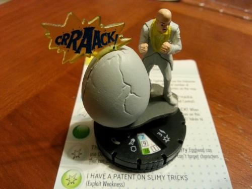 Egghead Heroclix Figure