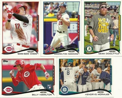 2014 Topps Baseball Base