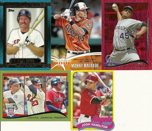 2014 Topps Baseball Inserts & Parallels