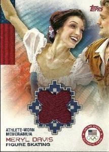 Meryl Davis Relic Card
