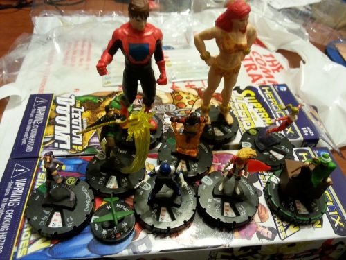 Superman and the Legion of Superheroes Heroclix