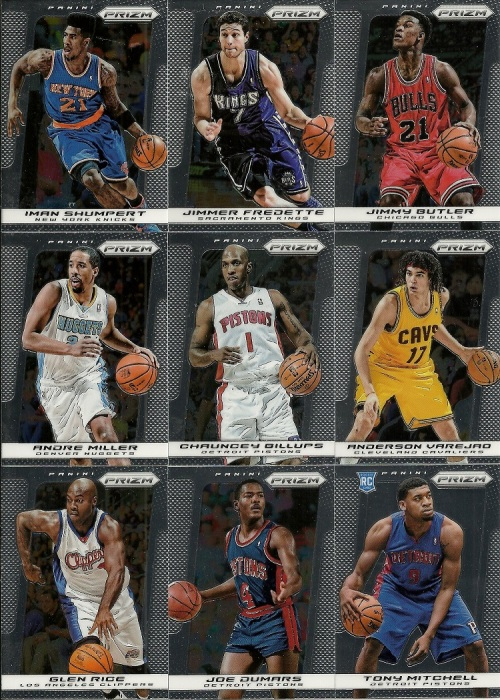 2013-14 Panini Prizm Basketball Base
