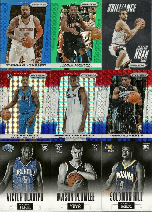 2013-14 Panini Prizm Basketball Inserts and Parallels