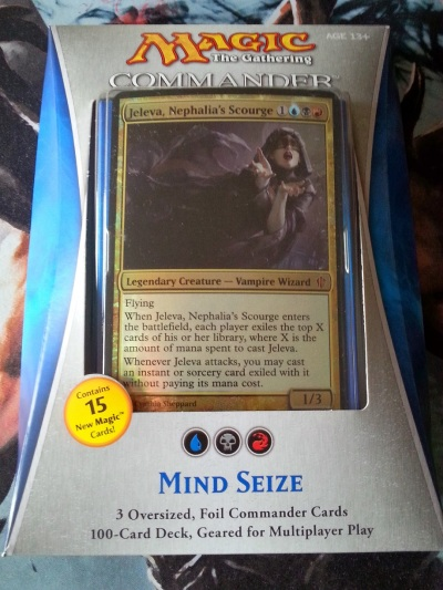 Commander Deck Mind Seize