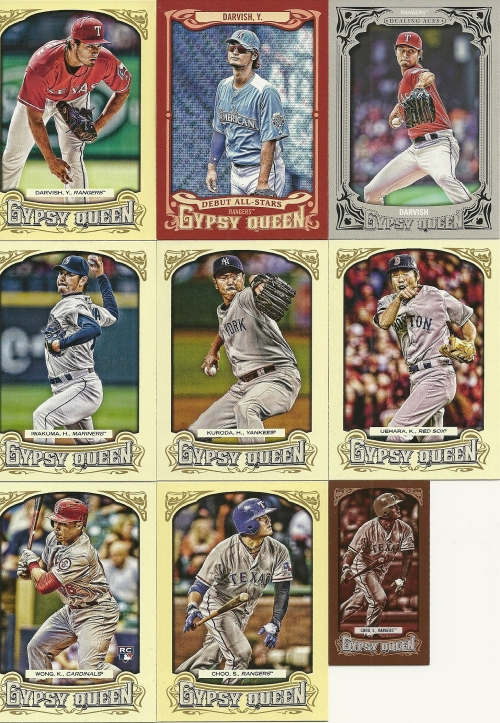 2014 Topps Gypsy Queen Cards for PC