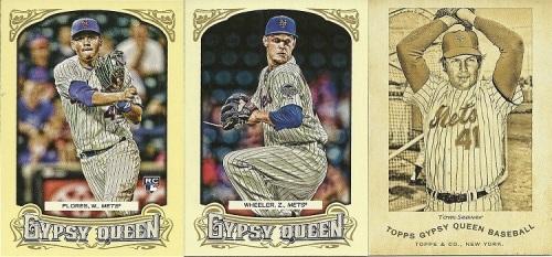 2014 Topps Gypsy Queen Mets