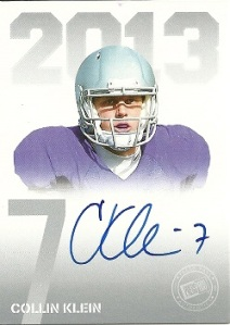 2013 Press Pass Football Collin Klein