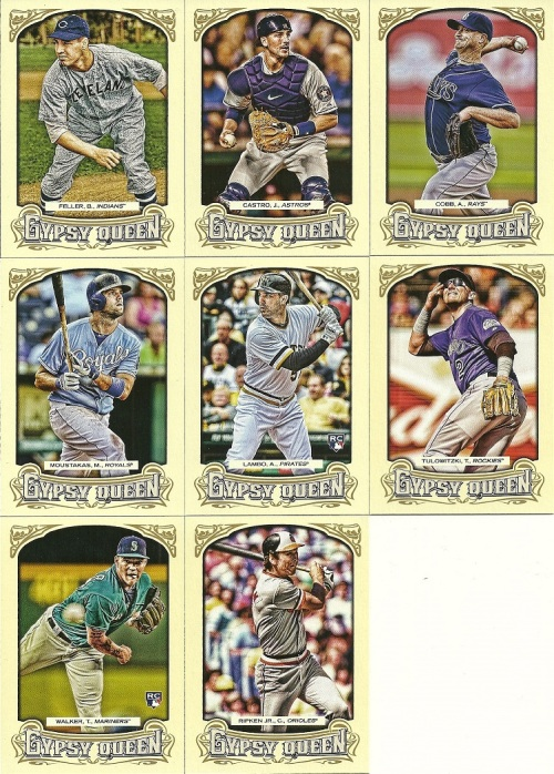 2014 Gypsy Queen Random Base