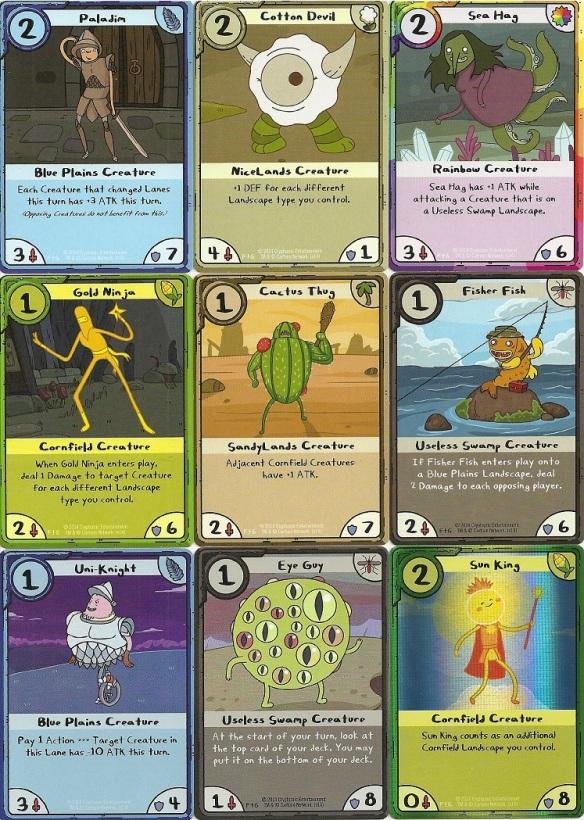 Cryptozoic Adventure Time Card Wars | Shot Not Taken