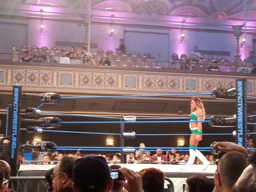 TNA Wrestling Brittany