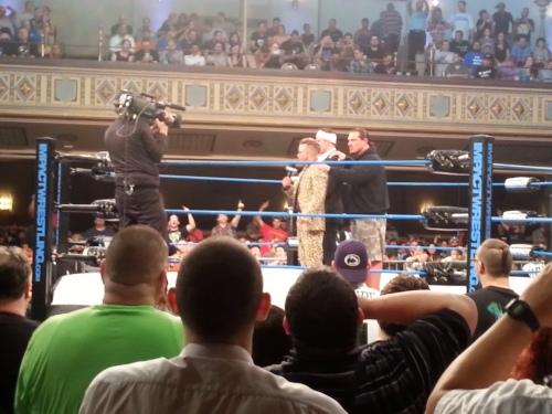 TNA Wrestling Rockstar Spud EC3 Rhyno