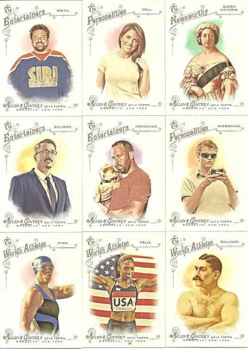 2014 Topps A&G Base Cards Oddball