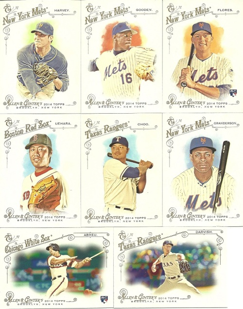 2014 Topps A&G Base Cards