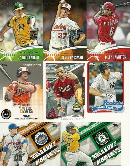 2014 Topps Baseball Series 2 Inserts