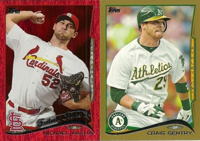 2014 Topps Baseball Series 2 Parallels