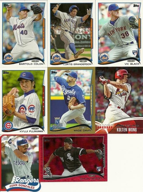 2014 Topps Baseball Series Retail