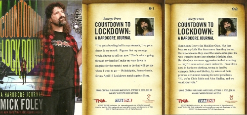 Mick Foley Book Excerpts