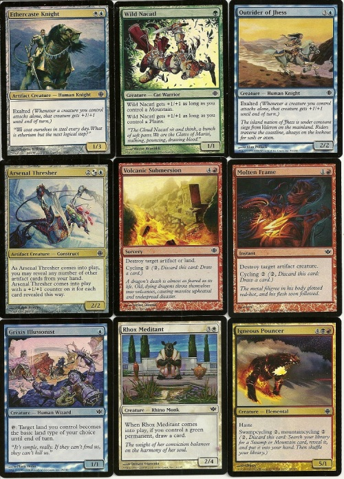 Shards of Alara Foils