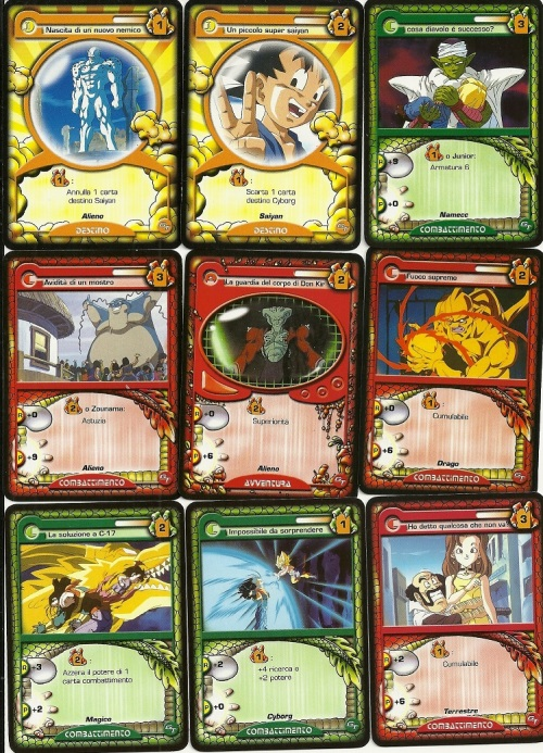 Dragon Ball GT Cards