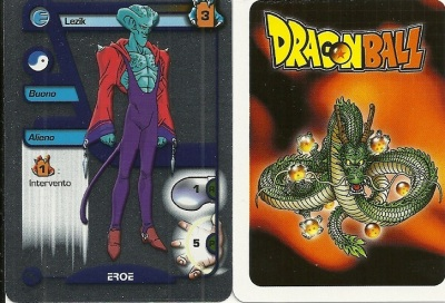 Dragon Ball GT Metal Card