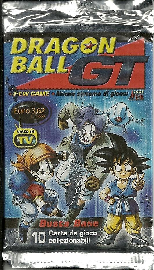 oddball pack break  dragon ball gt collectible card game