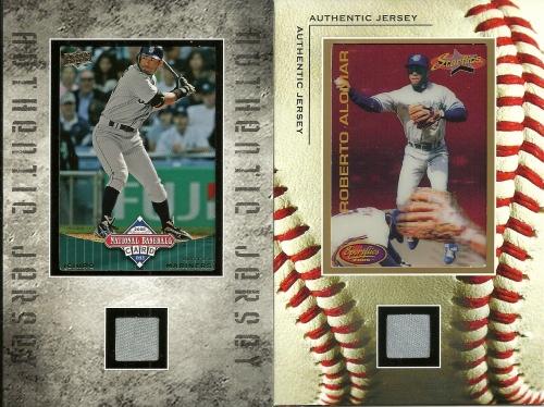 Ichiro Roberto Alomar Jersey Card Frames