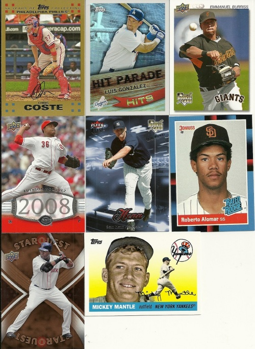 More Random Baseball Cards