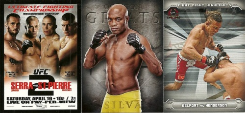 2014 Topps UFC Champions Inserts