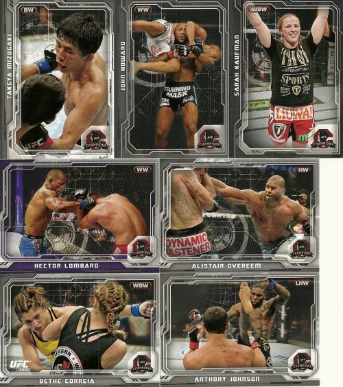 2014 Topps UFC Champions