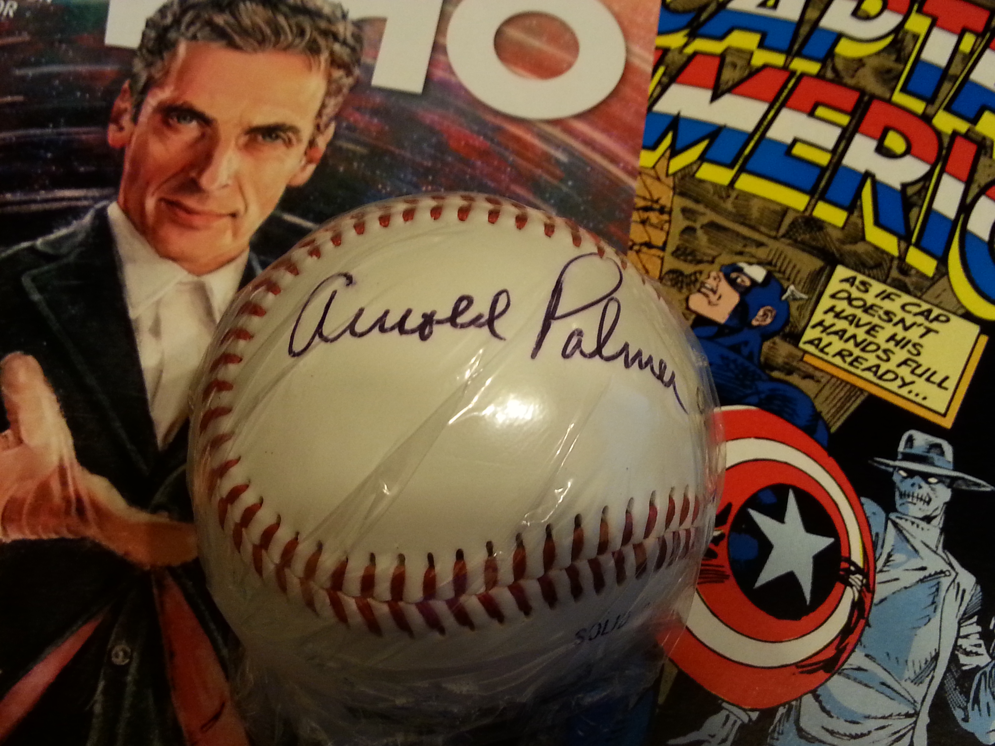 Collectibles That Are Worthless Arnold Palmer Signed Baseball