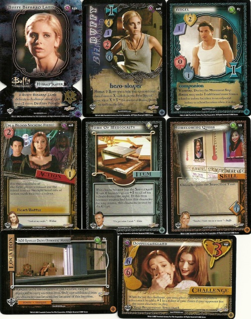 Buffy CCG Cards
