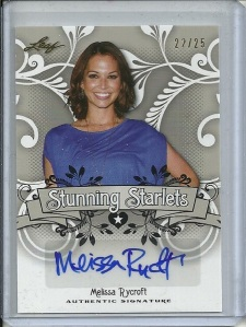 Melissa Rycroft Autograph