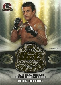 Vitor Belfort Commemorative Belt Plate