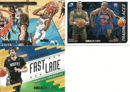 2014-15 Panini NBA Hoops Inserts and Parallels