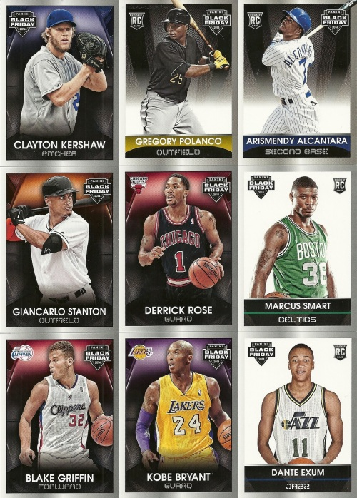2014 Panini Black Friday Cards 2