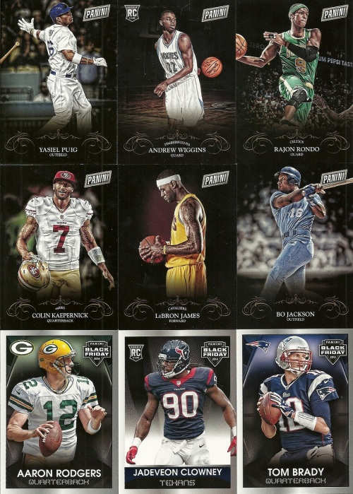 2014 Panini Black Friday Cards