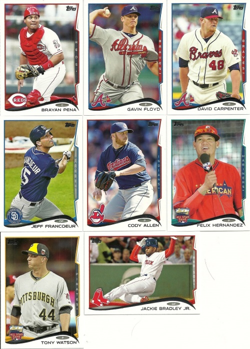 2014 Topps Baseball Update Base