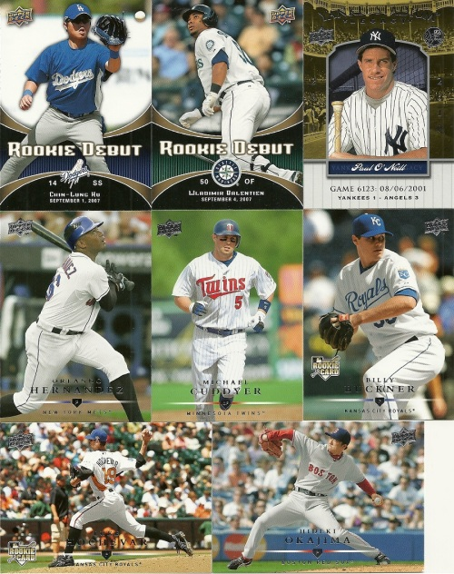2008 Upper Deck Baseball Series One