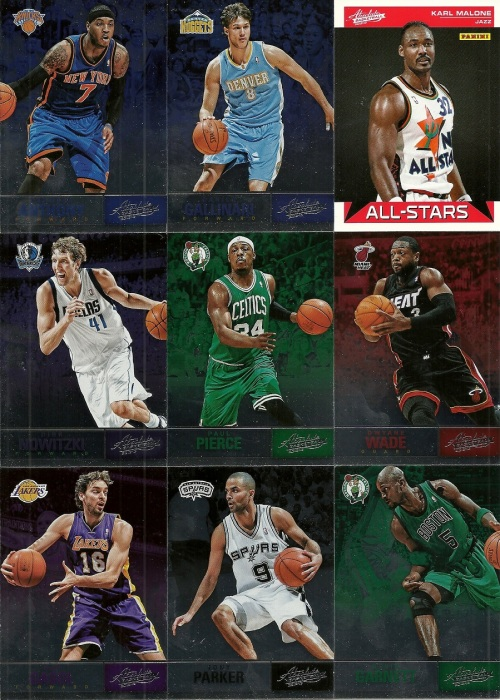 2012-13 Panini Absolute Basketball