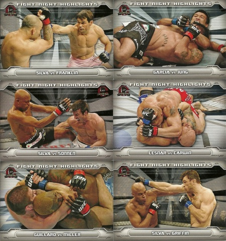 2014 Topps UFC Champions Inserts 2