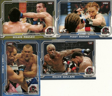 2014 Topps UFC Champions Parallels 2