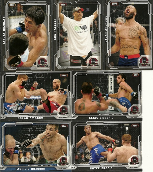 2014 Topps UFC Champions Parallels