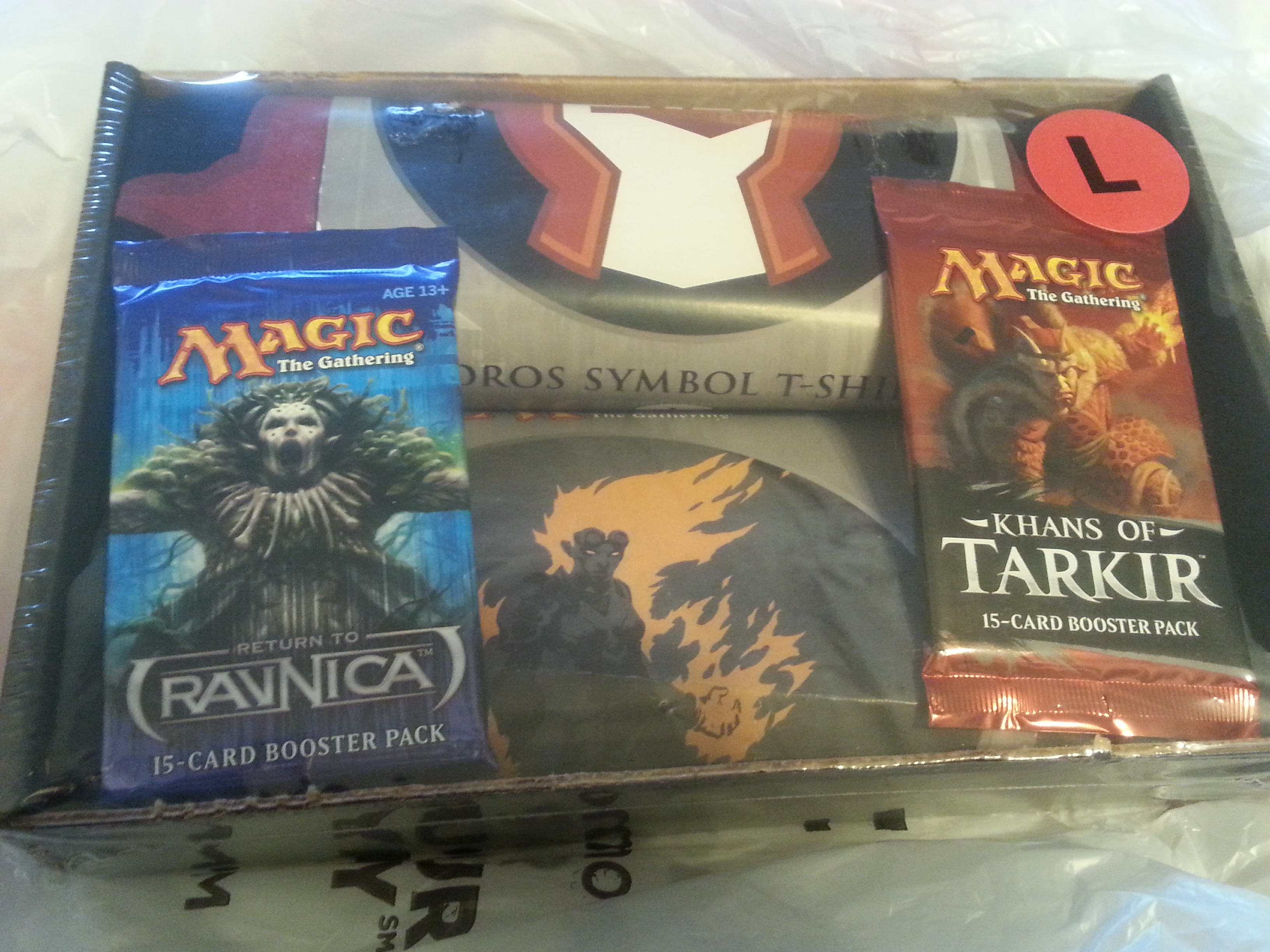 MTG Repack Break: 2 T-shirts and 2 Packs & Brewing with