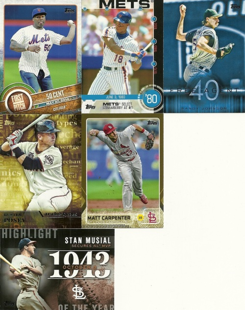 2015 Topps Baseball Series One Inserts