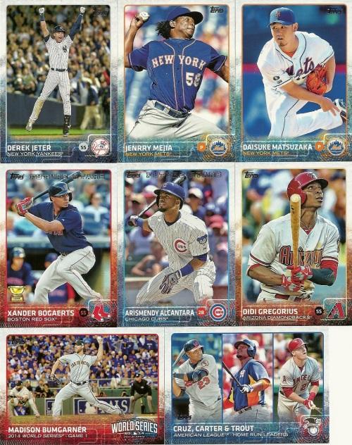 2015 Topps Baseball Series One
