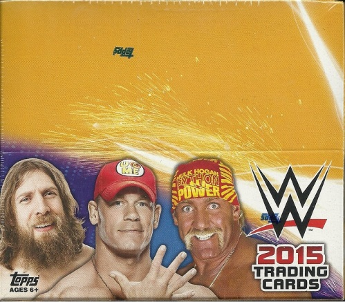 2015 Topps WWE Box
