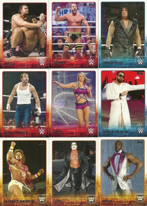 2015 Topps WWE Cards