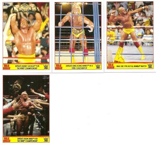 2015 Topps WWE Hulk Hogan