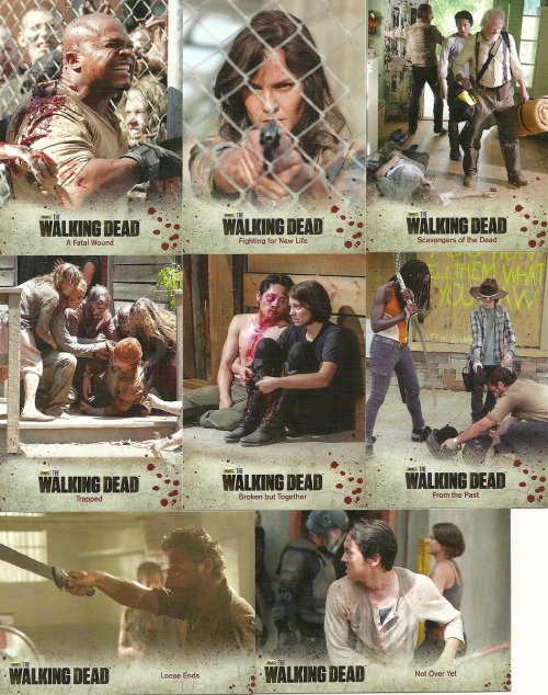 Cryptozoic The Walking Dead Trading Cards